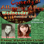 Comedy Night w/ Tony Esposito, Darren Moore, & Carmen Morale at AA - Wed Oct. 12th