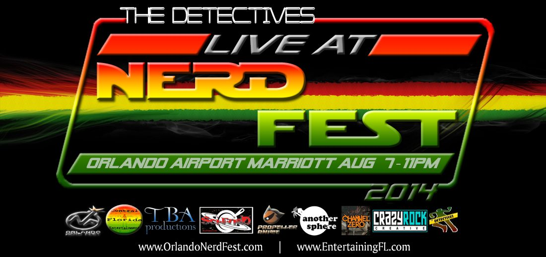 Orlando NerdFest Flyer