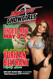 Cinco de Mayo Weekend w/ Latin Adult Star Yurizan Beltran