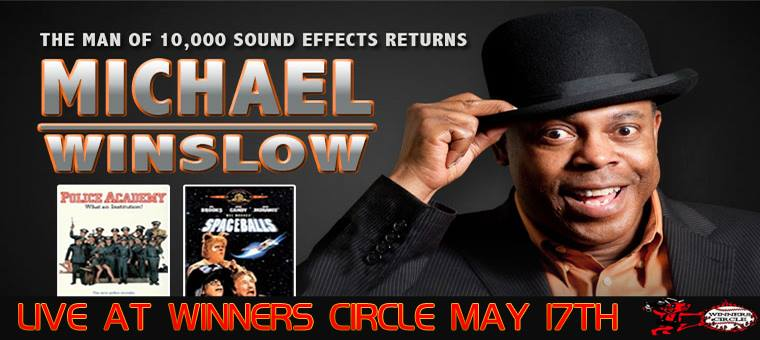 Michael Winslow - The Man of 1,000 Sounds - Live in Lakeland, FL May 17th