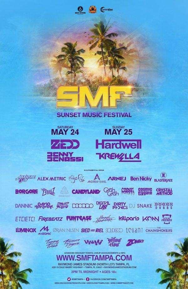Sunset Music Festival 2014