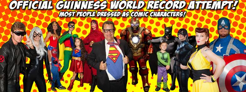 Fri  August 1st - Tampa Bay Comic Con World Record Attempt