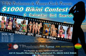 TBA Bikini Models Sept 20th Model Search