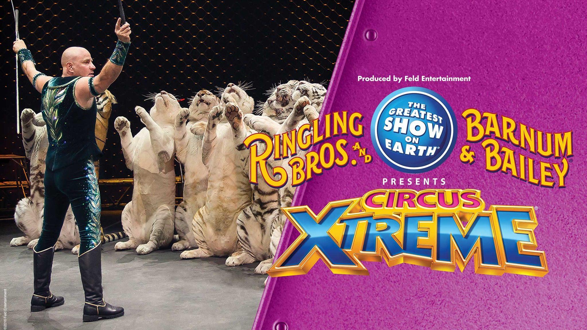 Jan. 25-29 Ringling Bros. and Barnum & Bailey Presents Circus XTREME